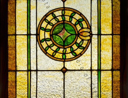 Antique Stained Glass Restoration and Repair