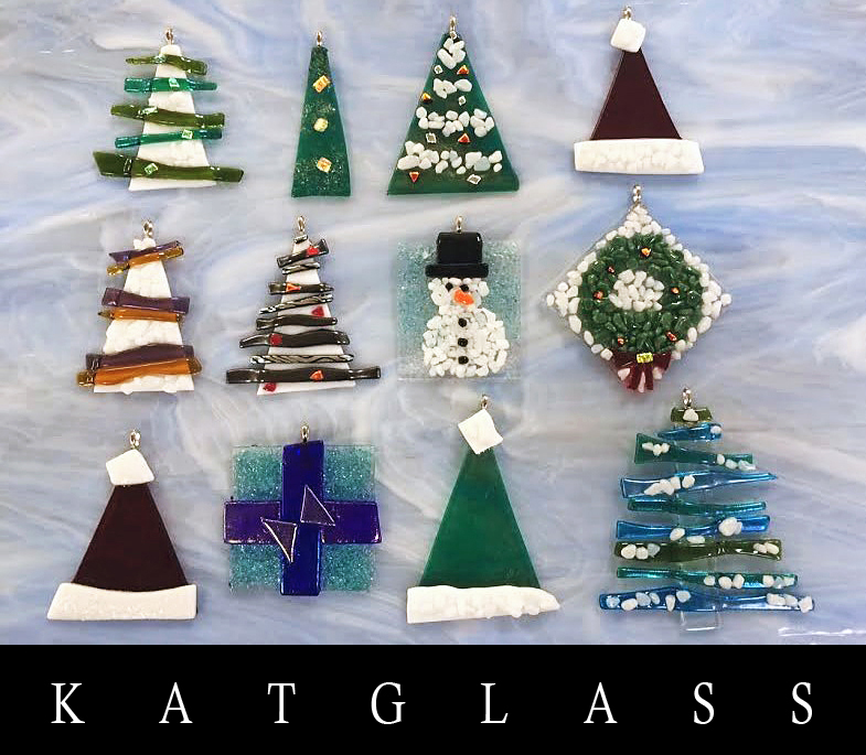 Fused Christmas Ornaments Class