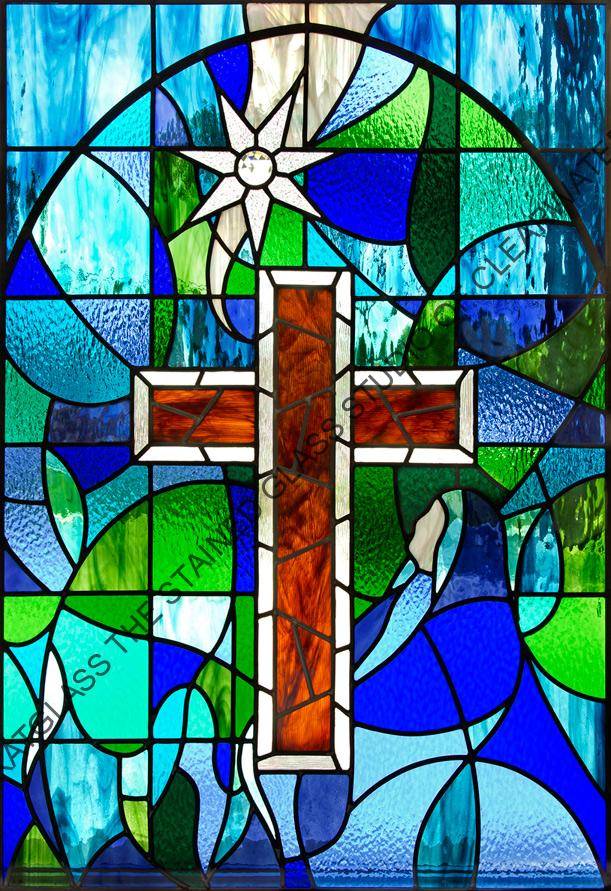 Stained Glass Windows : Church of christ science stained glass windows tarpon springs