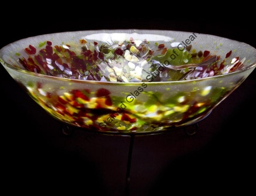 Custom Slumped Glass Sink St Petersburg Florida