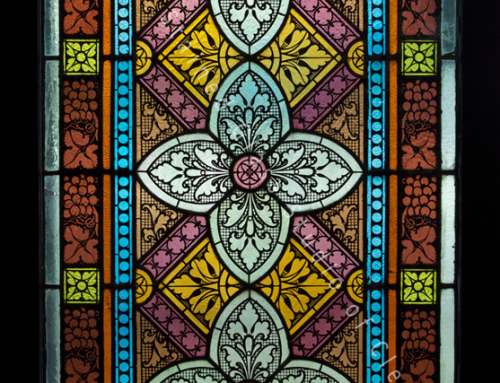Antique Stained Glass Window Repair and Restoration