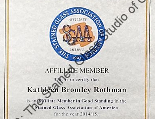 KATGLASS: Affiliate Member of The Stained Glass Association of America