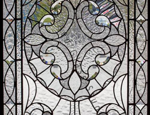 Victorian Stained Glass Door St Petersburg Florida