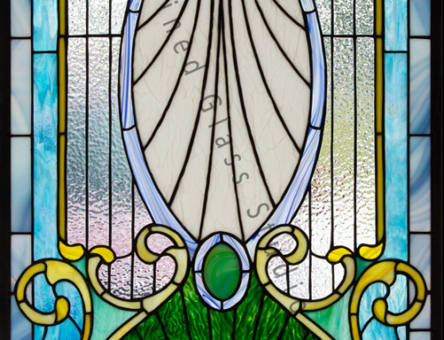 Stained Glass Victorian Door Tampa Florida