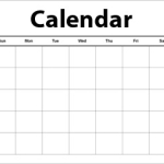 Stained Glass Class Calendar
