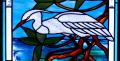 Egret-and-Manatees-closeup-02