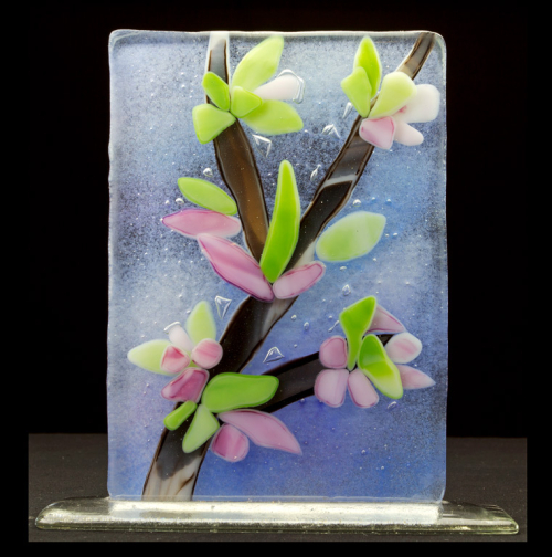Fused-Glass-Art-Cherry-Blossom