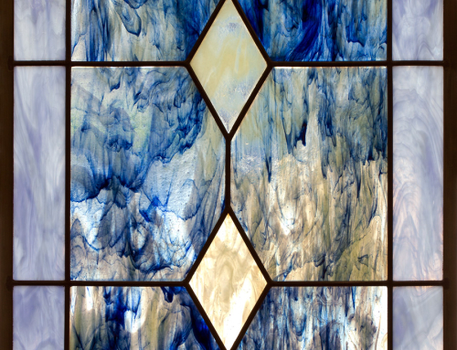 Fused Glass Cabinet Doors