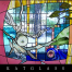 earth wind and water california contemporary stained glass window