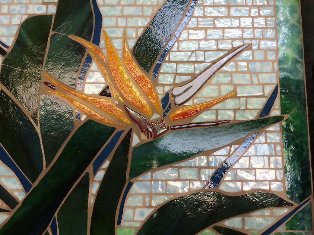 Bird of Paradise Mosaic