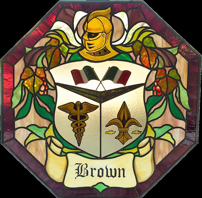 Brown Coat of Arms