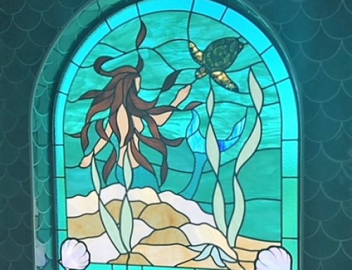 mermaid and turtle